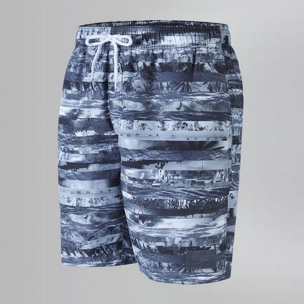 "Speedo Printed Leisure 18"" Shorts"