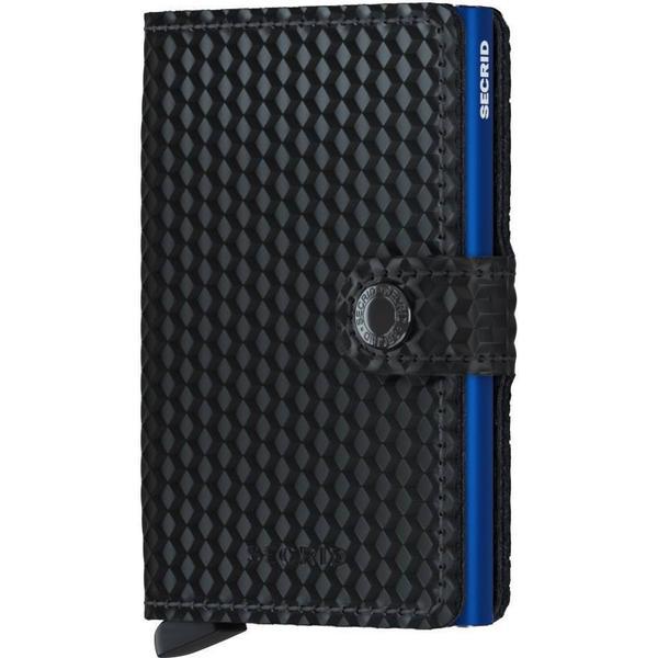 Secrid Mini Wallet - Cubic Black Blue