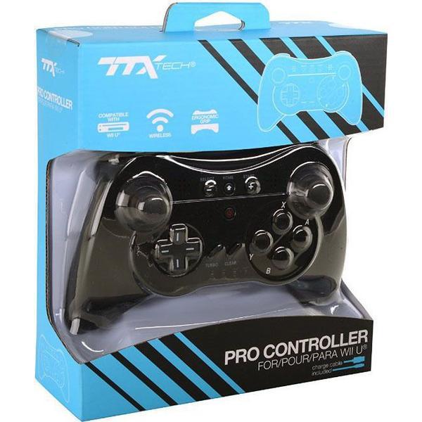 TTX Wii U Pro Controller - Black