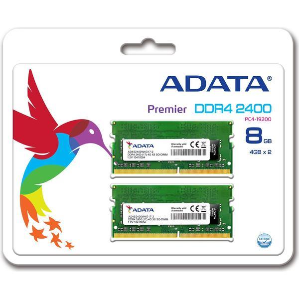 Adata Premier DDR4 2400MHz 2x4GB (AD4S2400W4G17-2)