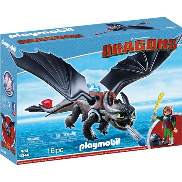 Playmobil Hiccup & Toothless 9246