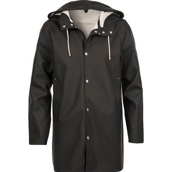Stutterheim Stockholm Raincoat Unisex Black
