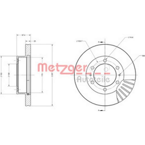 Metzger 6110739