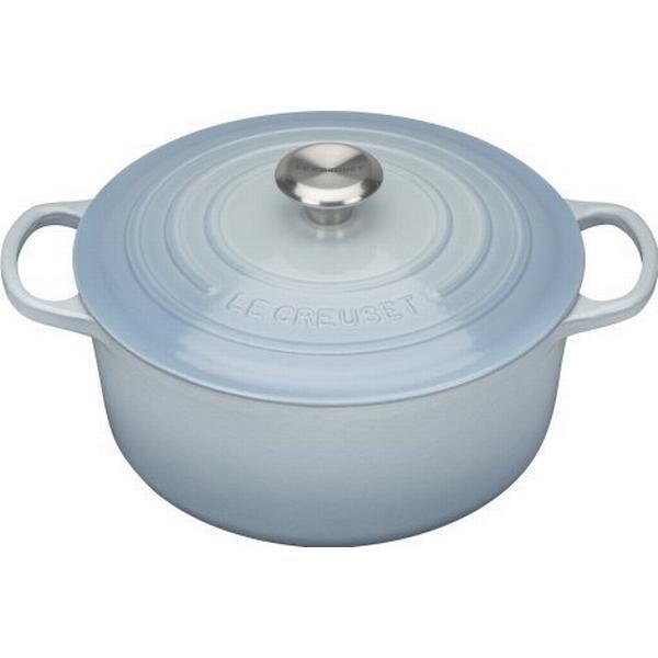 Le Creuset Coastal Blue Signature Cast Iron Round Other Pots with lid 26cm