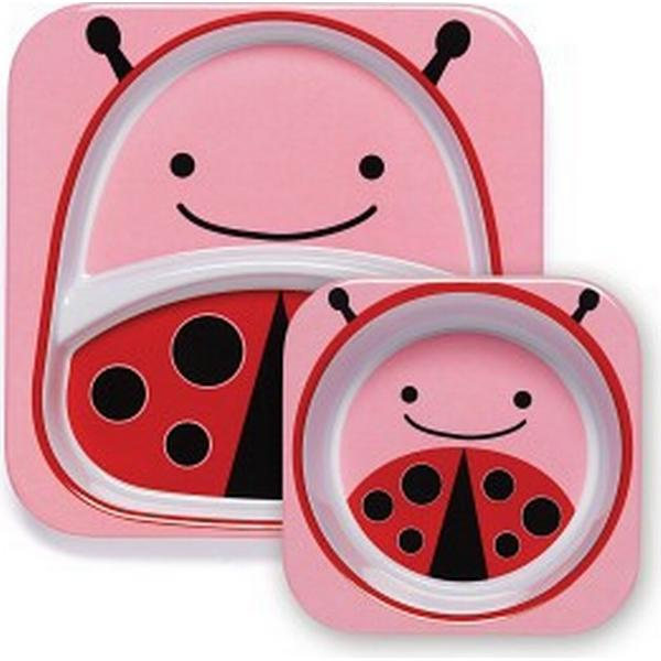 Skip Hop Zoo Melamine Plate & Bowl Set Livie Ladybug