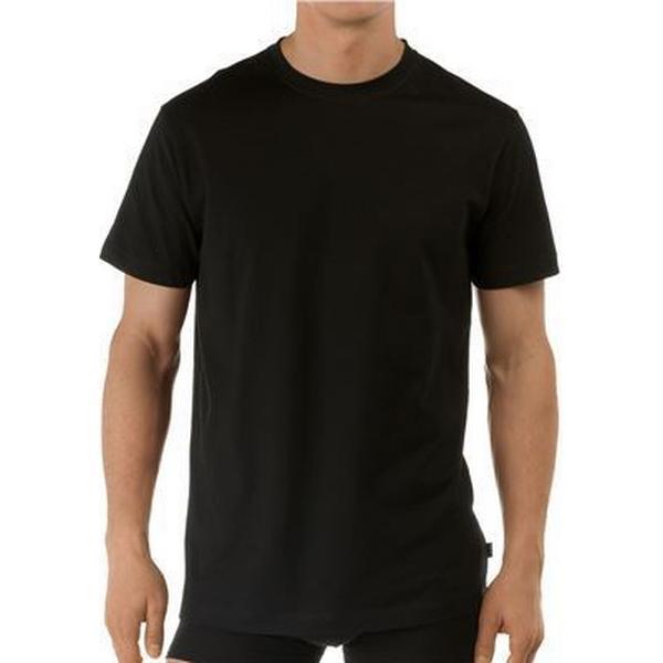 CALIDA Activity Cotton Crew Neck T-shirt - Black