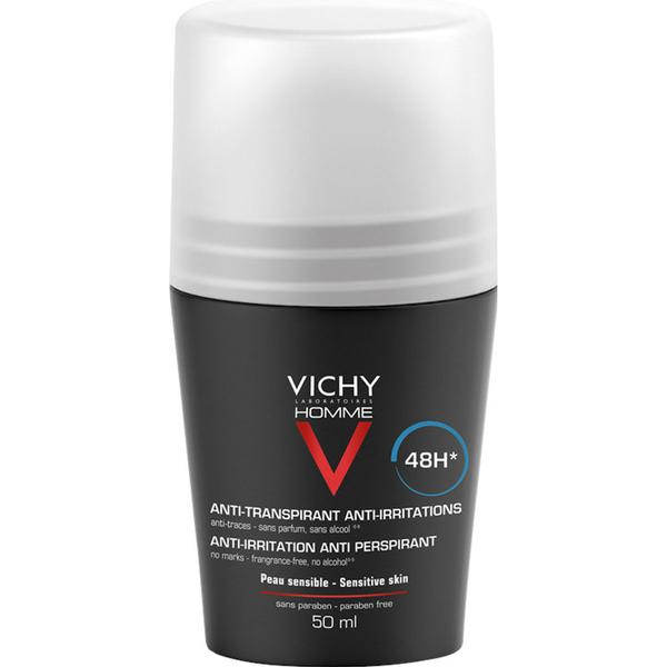 Vichy Homme Antiperspirant 48h Deo Roll-on 50ml
