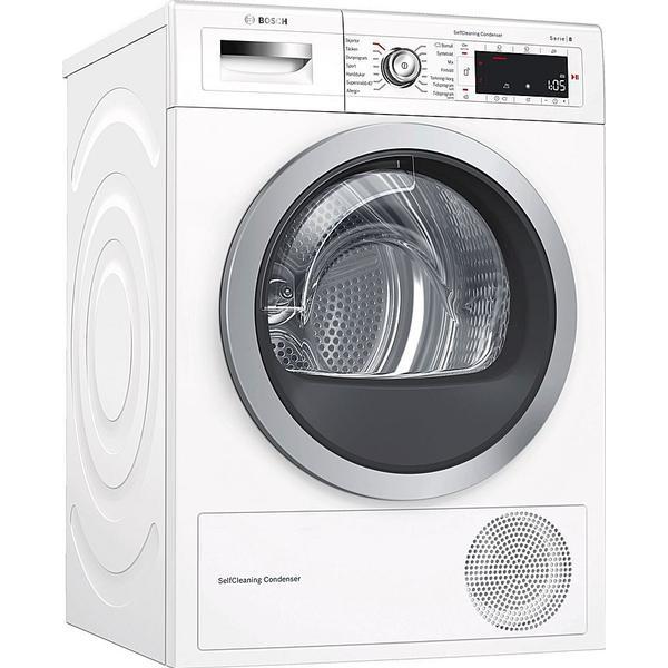 Bosch WTWH75B9SN Hvid