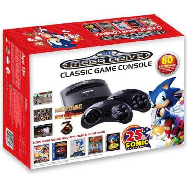 AtGames Sega Mega Drive Classic Game Console - Sonic 25th Anniversary
