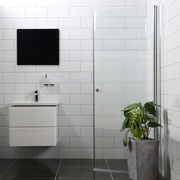 Bathlife Mångsidig Brusedør 800mm