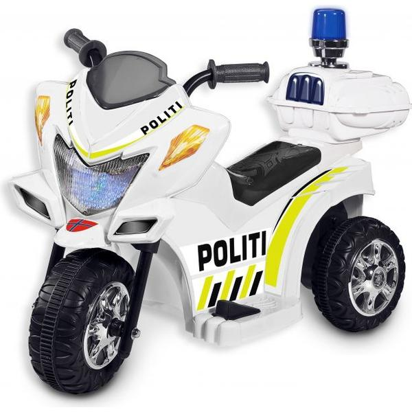 Loko Toys Politimotorcykel 6V
