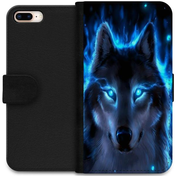 iSecrets Wallet Case Wolf (iPhone 8 Plus)
