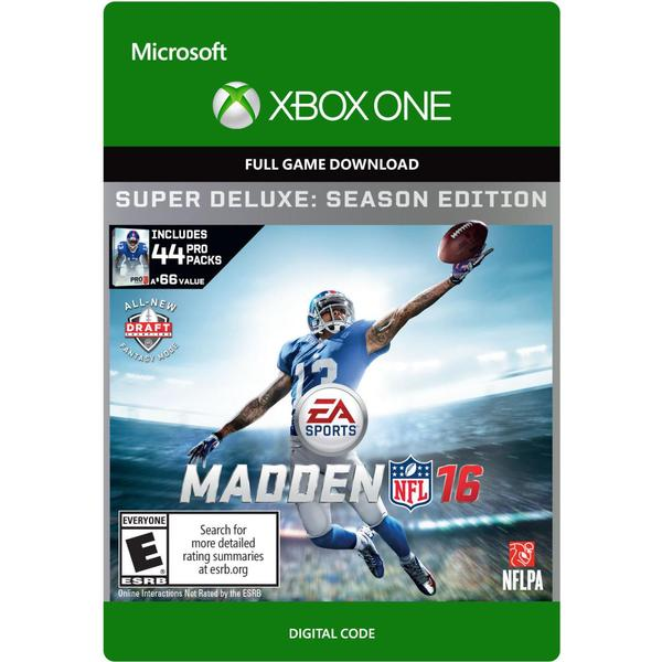 Madden NFL 16 - Super Deluxe Edition