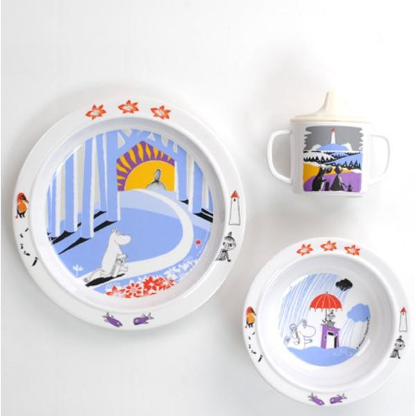 Rätt Start Mumin Melamine Set 3pcs