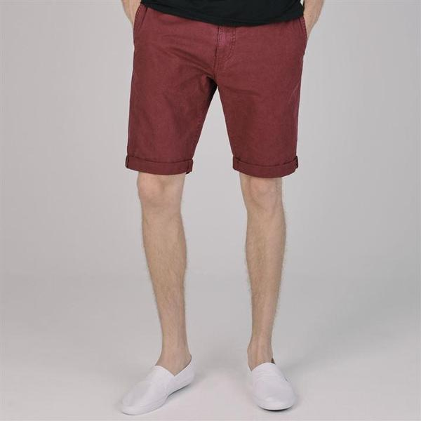 SoulCal Deluxe Chino Shorts Burgundy