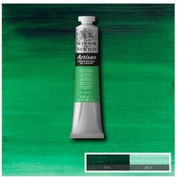 Winsor & Newton Artisan Water Mixable Oil Color Phthalo Green 521 200ml