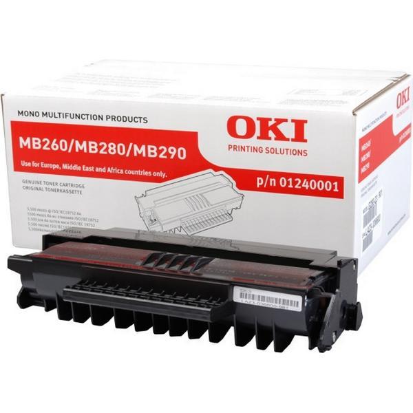 OKI (1240001) Original Toner Svart 5500 Sidor