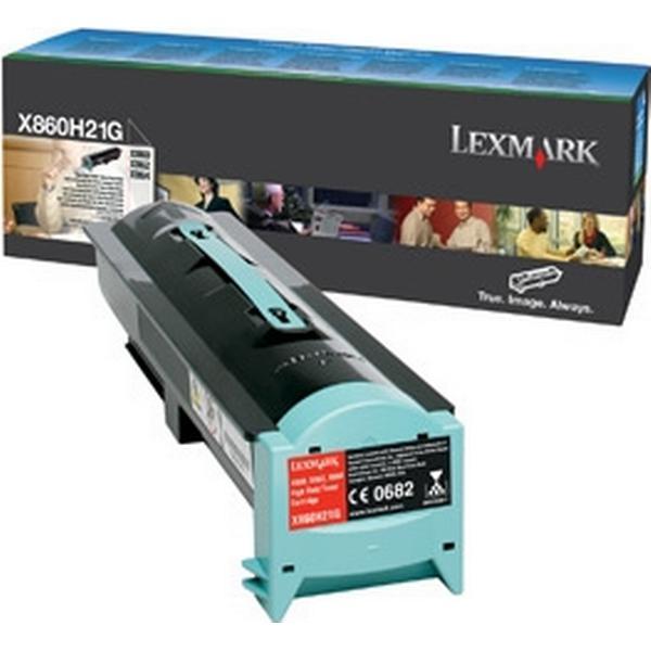 Lexmark (X860H21G) Original Toner Svart 35 Sidor