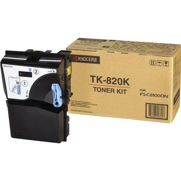 Kyocera (TK-820K) Original Toner Svart 7000 Sidor