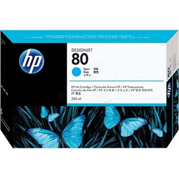 HP (C4846A) Original Bläckpatron Cyan 350 ml