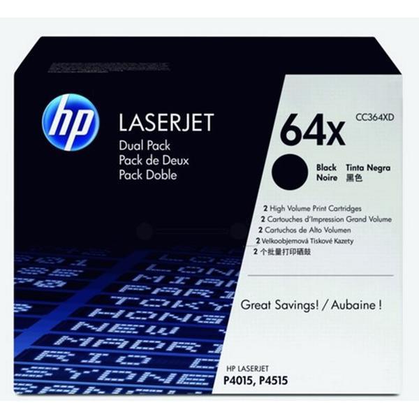 HP (CC364XD) Original Toner Svart