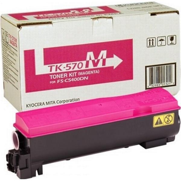 Kyocera (TK-570M) Original Toner Magenta 12000 Sidor