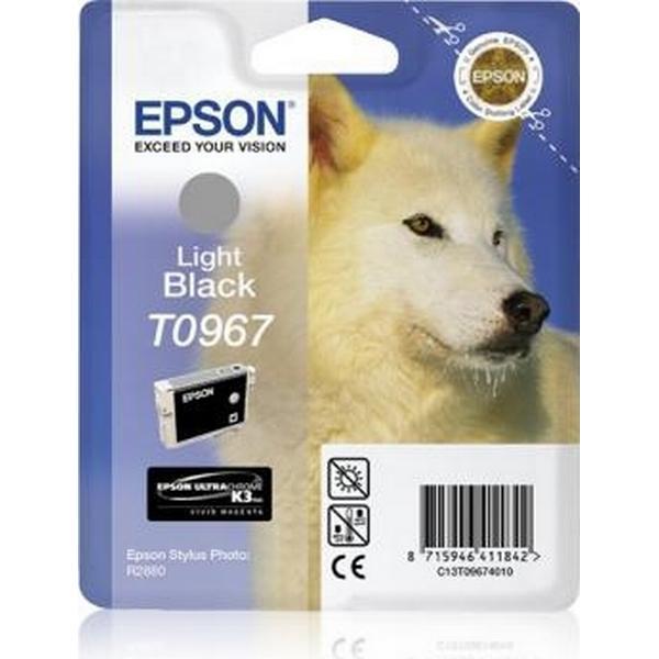 Epson (C13T09674010) Original Bläckpatron Ljussvart 11.4 ml 6200 Sidor