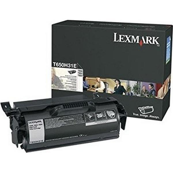 Lexmark (T650H31E) Original Toner Svart 25000 Sidor
