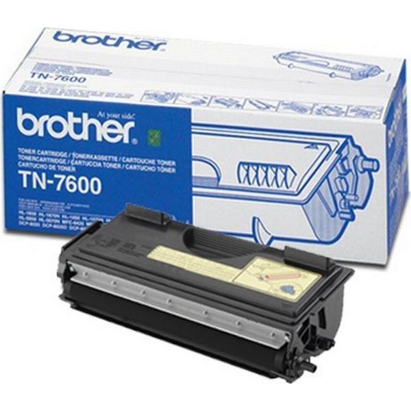 Brother (TN7600) Original Toner Svart 6500 Sidor