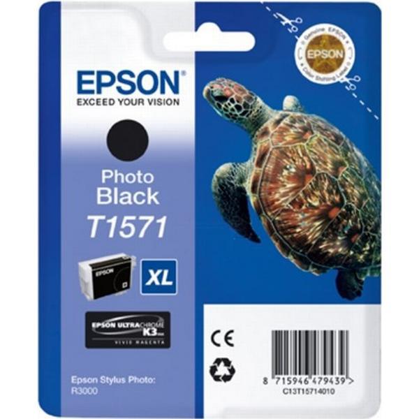 Epson (C13T15714010) Original Bläckpatron Svart 25.9 ml