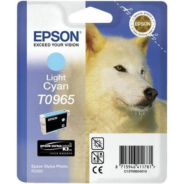Epson (C13T09654010) Original Bläckpatron Ljuscyan 11.4 ml 940 Sidor