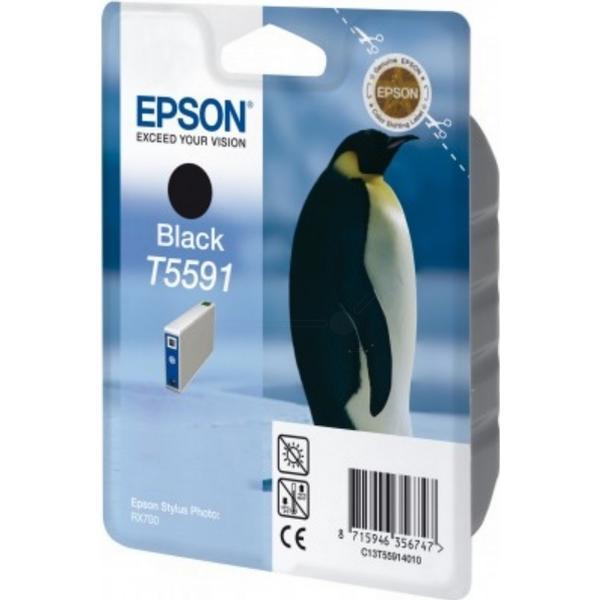 Epson (C13T55914010) Original Bläckpatron Svart 13 ml