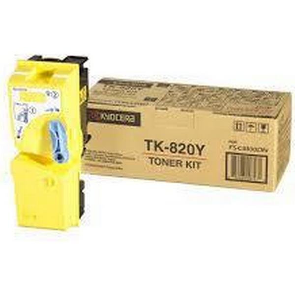 Kyocera (TK-820Y) Original Toner Gul 7000 Sidor