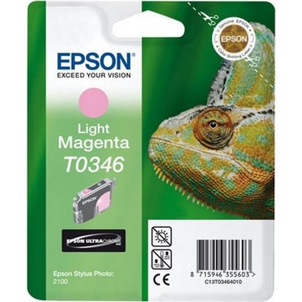 Epson (C13T03464010) Original Bläckpatron Ljusmagenta 17 ml