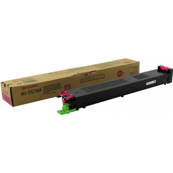 Sharp (MX31GTMA) Original Toner Magenta 15000 Sidor
