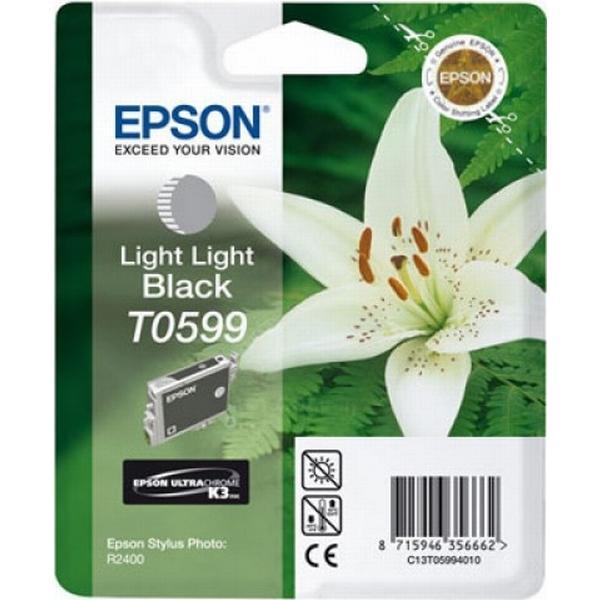 Epson (C13T05994010) Original Bläckpatron Ljus ljussvart 13 ml