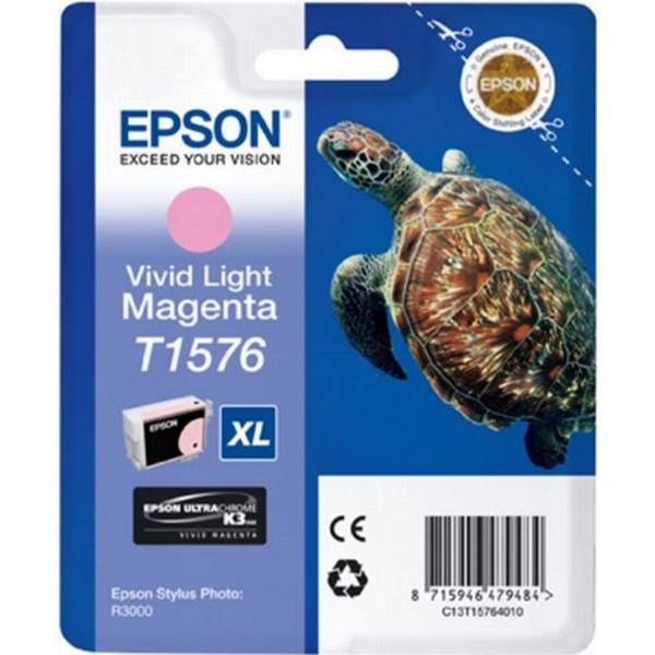 Epson (C13T15764010) Original Bläckpatron Ljusmagenta 25.9 ml