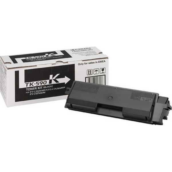 Kyocera (TK-590K) Original Toner Svart 7000 Sidor