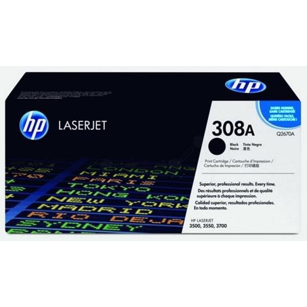 HP (Q2670A) Original Toner Svart 6000 Sidor