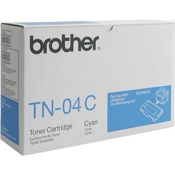 Brother (TN-04C) Original Toner Cyan 10000 Sidor