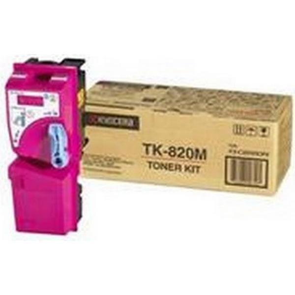 Kyocera (TK-820M) Original Toner Magenta 7000 Sidor