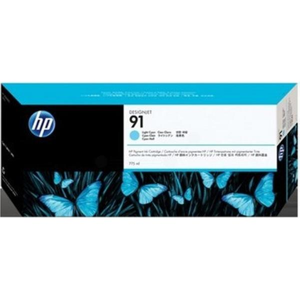 HP (C9470A) Original Bläckpatron Ljuscyan 775 ml