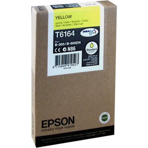 Epson (C13T616400) Original Bläckpatron Gul 53 ml