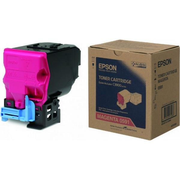 Epson (C13S050591) Original Toner Magenta 6000 Sidor