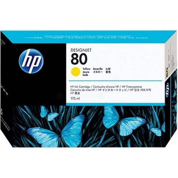 HP (C4873A) Original Bläckpatron Gul 175 ml
