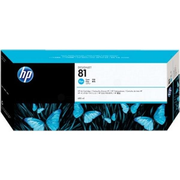HP (C4931A) Original Bläckpatron Cyan 680 ml