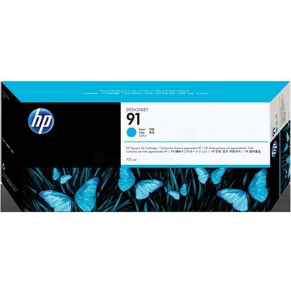 HP (C9467A) Original Bläckpatron Cyan 775 ml