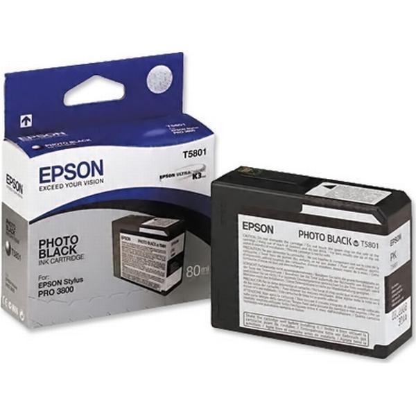 Epson (C13T580100) Original Ink Black 80 ml