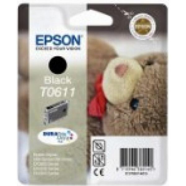 Epson (C13T06114010) Original Bläckpatron Svart 8 ml