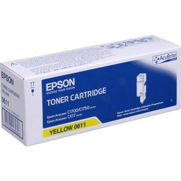 Epson (C13S050611) Original Toner Gul 1400 Sidor